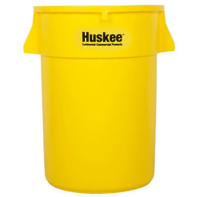 44 Gallon Heavy Duty Plastic Yellow Commerical Restaurant Kitchen Trash Can