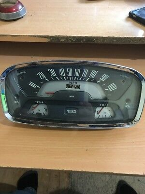 Dash MORRIS Speedometer Gauge Assembly Complete Smith's Gauges