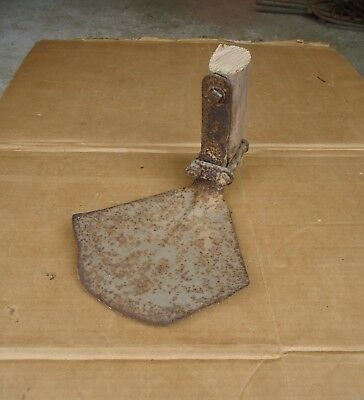 antique garden hoe head vintage primitive cultivator yard digging tools rustic