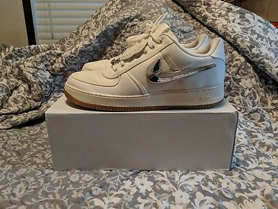Nike Air Force One Low Travis Scott Sail Size 13