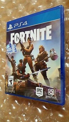 Fortnite Ps4 Physical Disc/copy Founders Deluxe Storm Masters Weapons Pack (New)