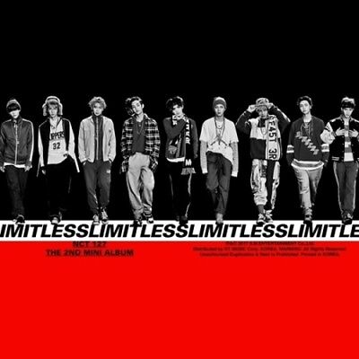NCT127[NCT #127 Limitless]Random CD+Book+Poster/On+etc+K-POP Poster+Frachtnummer