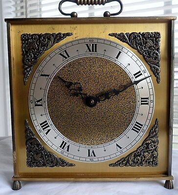 Vintage URGOS Table Clock Wind-up Movement in Good Working Condition