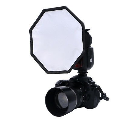 Flash Diffuser 30cm Round Balance Card Board Speedlight Photography Softbox