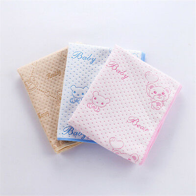 Baby Infant Diaper Nappy Urine Mat Kid Waterproof Bedding Changing Cover Pad M/L