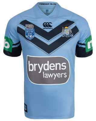 NSW Blues State of Origin 2018 On Field Premium Jersey Adults, Ladies & Kids
