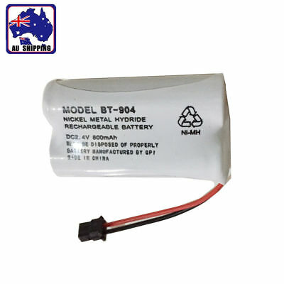 1x Uniden BT-904 2.4V 800mAh NI-MH Cordless Phone Rechargeable Battery EYBA10904