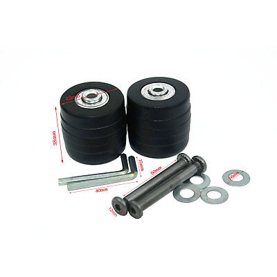 Luggage Suitcase Wheels Axles Deluxe Repair OD 42mm x 38mmx 6mm Tool Replacement
