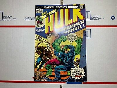 The Incredible Hulk #182 (December 1974, Marvel) 2nd Wolverine appearance