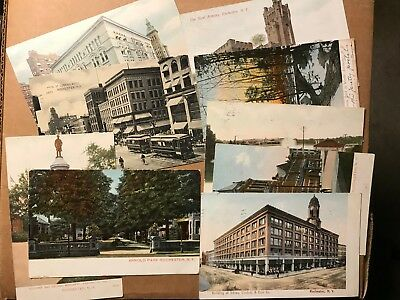 Lot of 9 color printed vintage postcards Rochester New York NY