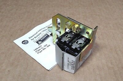 NEW AB Allen-Bradley 1495-N78 Series A Electrical Interlock (Auxiliary Contact)