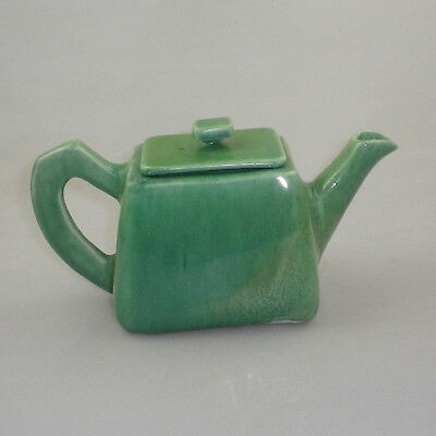 Vintage Art Deco Pottery Teapot by Rooja