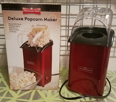 Deluxe Popcorn Maker by American Era New In Box Healthy Hot Air