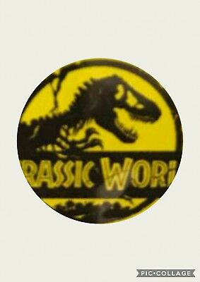 Jurassic Park Secret Special Badge