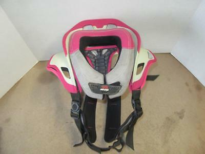 Evs Rc-Evolution Race Collar Neck Brace Size Small Pink Motocross Dirt Bike
