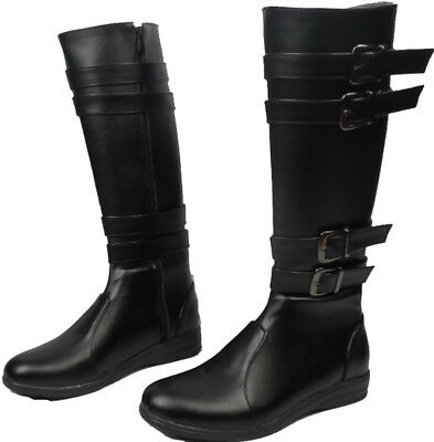 Cosplay Boots Shoes for Star Wars The Force Awakens Kylo Ren