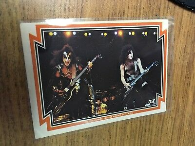 Kiss 1978 Donruss Series One Card 38 Stanley Simmons Excellent