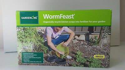 GARDENLINE*WormFeast* In ground WORM FARM Pick up TAYLOR'S LAKES 3038