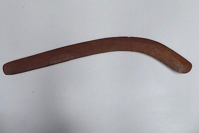 Old Chip Carved Australian  Aboriginal Hunting Boomerang