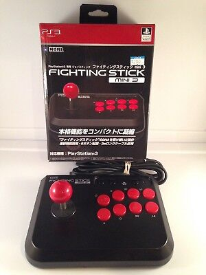 HORI FIGHTING FIGHT STICK MINI 3 PS3 PlayStation 3 Arcade Controller Pad *Boxed*