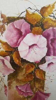 Stunning ORIGINAL Water Colour (1) - by Loyus Aikman