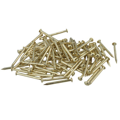 100PCS Antique Round Head Copper Nail for Furniture Nailed 2.8mm x 18mm