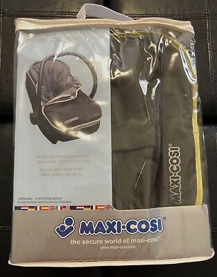 Maxi Cosi Infant Baby Car Seat Cover Foot Muff Green brown