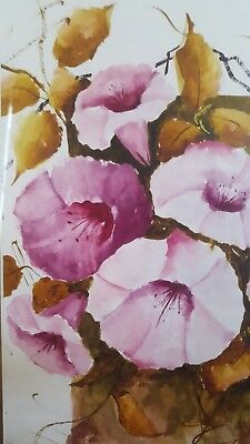 Stunning ORIGINAL Water Colour (2) - by Loyus Aikman