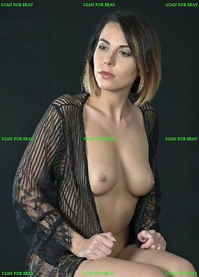 0049 SEMI NUDE 4x6 female model breast  FINE ART PHOTOGRAPH print