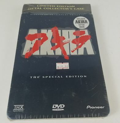 AKIRA 2 DVD Limited Edition Metal Collector's Case Sealed - mmoetwil@hotmail.com