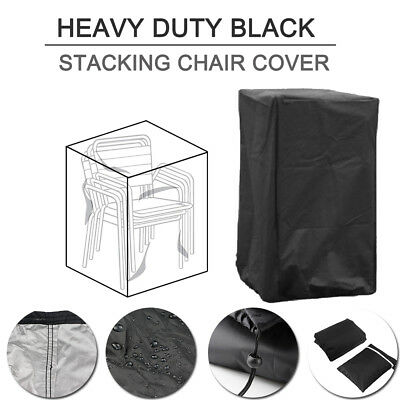 Stacking Chair Cover Outdoor Garden Waterproof Parkland Patio Chairs Furniture