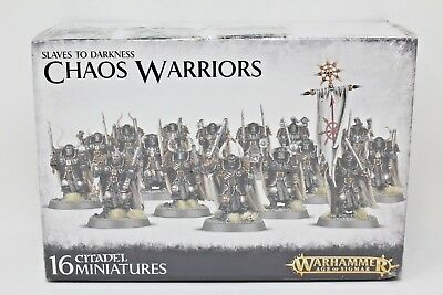 Warhammer Warriors of Chaos Slaves to Darkness Chaos Warriors New