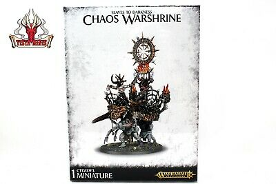 Warhammer Warriors of Chaos Slaves to Darkness Chaos warshrine New