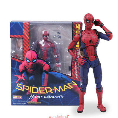 Kids Spider Man Homecoming Spiderman PVC Action Figure Model Toy Popular
