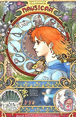 Studio Ghibli - Nausicaa Of The Valley Of The Wind - Matte - Buy 2 Get 1 Free