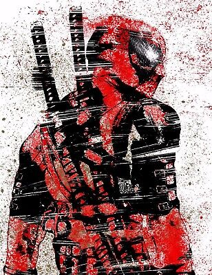 Marvel - Deadpool Art Poster Print - Wall Art - Buy 2 Get 1 Free