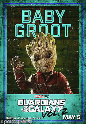 Guardians Of The Galaxy 2 - Baby Groot Poster Print - Buy 2 Get 1 Free
