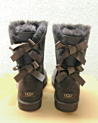 7e9a9d29c9e UGG BAILEY BOW Chocolate Women Boot Us 6 / Eu 37 / Uk 4.5 - New