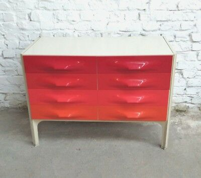 Raymond Loewy Df2000 X-Line Sideboard Enfilade Meuble Mobel Space Age 1968