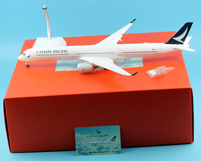 JC Wings 1:200 Cathay Pacific Airline A350-1000 Diecast Model B-LXA Flaps Down