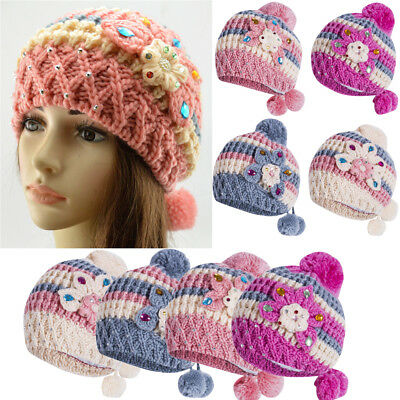 Women Lady Winter Warm Knitted Pom Pom Ball with Press Button for Knitting Hat