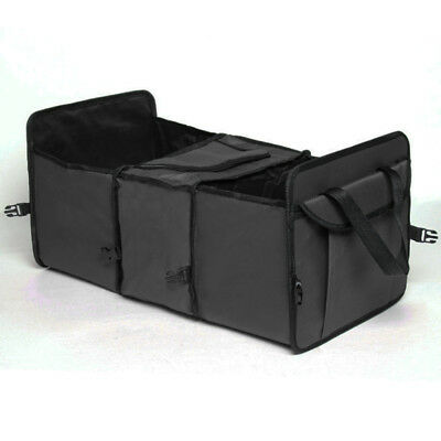 3-Compartment Strong Foldable Car Boot Storage Organiser Tidy Shopping Box Bag