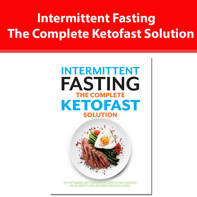 Intermittent Fasting complete Ketofast solution book NEW Ketogenic diet cookbook