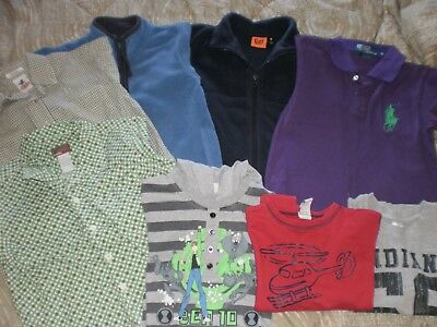 8  Pieces  of  Boys  Clothes  -  Size  5  &  6