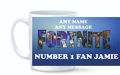 Personalised Mug Custom Photo Logo and Text Cup XMAS BIRTHDAY FORTNIGHT GAME