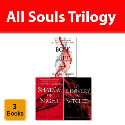 All Souls Trilogy collection Deborah Harkness 3 books set A Discovery of Witches