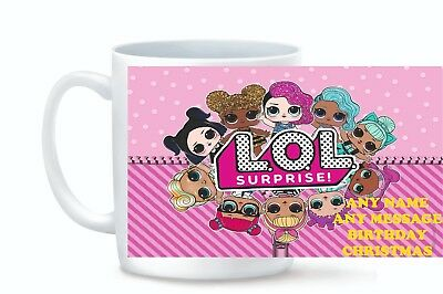 Personalised Mug Custom Photo Logo and Text Cup XMAS BIRTHDAY LOL SURPRISE