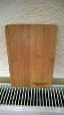 Taylor's port wooden  chopping board