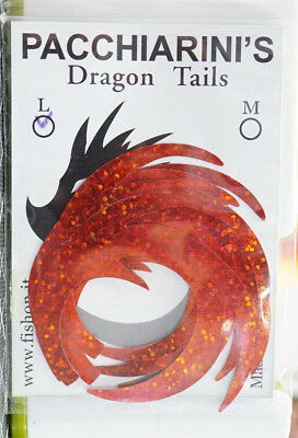Paolo Pacchiarini´s Dragon Tails LARGE HOLO GOLD 6 Stück Dragon Tails LARGE