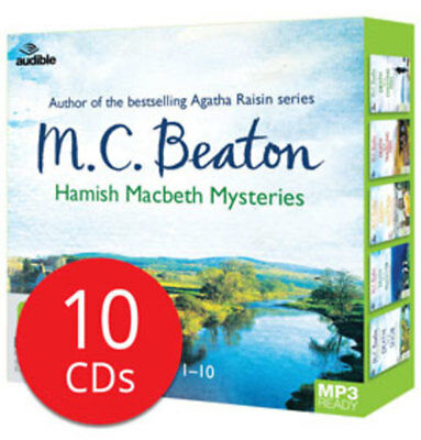 Hamish Macbeth Mysteries MP3 CD Collection - 10 MP3 CD's